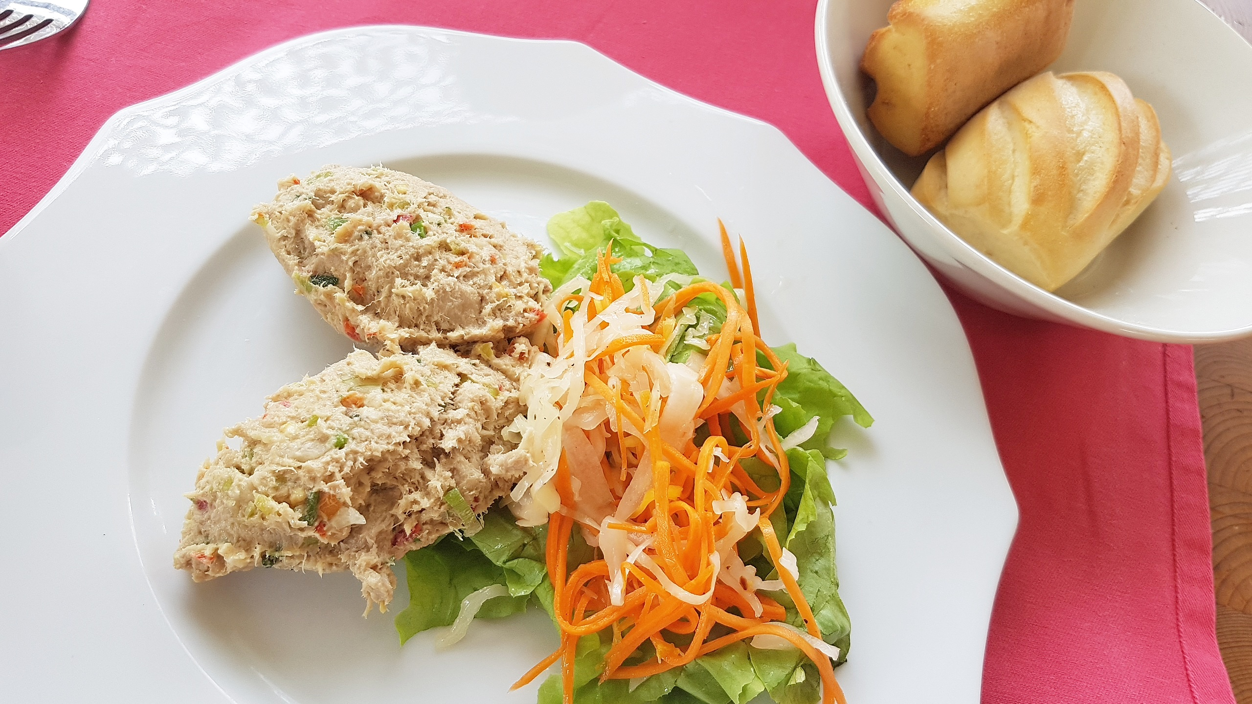 rillettes de marlin, restaurant les Arômes