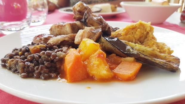 côtelettes d'agneau, restaurant les Arômes